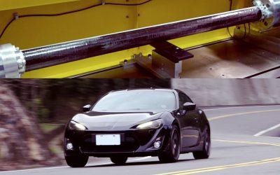 J-Fiber碳纖維傳動軸Toyota 86實測 Dry Carbon Driveshaft on road test [ENG SUB ]