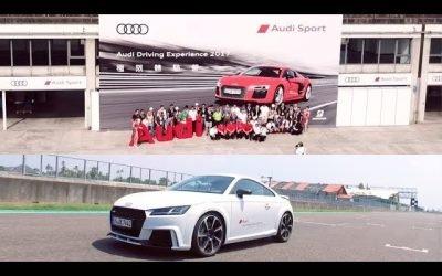 Audi Driving Experience 2017極限體驗營 & TT RS 賽道試駕