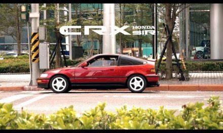 本田Type-R傳說的始祖 Honda CRX SiR