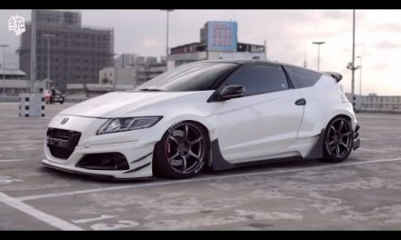 Rexxstyling widebody Honda CR-Z [ ENG SUB ]