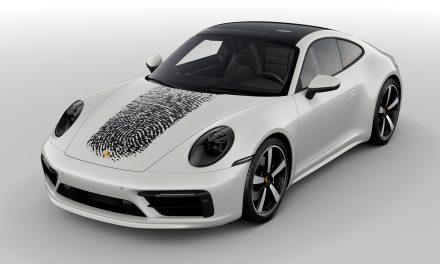 車體塗層技術創新 指紋客製專屬保時捷