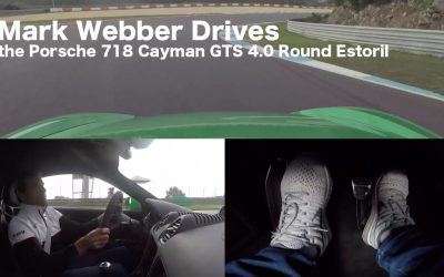 來看看Mark Webber怎樣駕駛手排Porsche 718 Cayman GTS 4.0