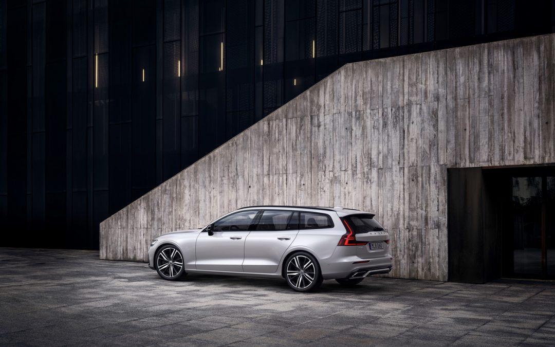 Volvo V60 獲北美 Autotrader 網站評選為 2020 最佳內裝設計車款
