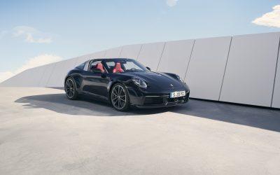 全新Porsche 911 Targa 4S: 優雅、極致、獨樹一格