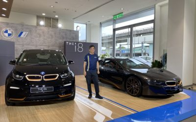 全新BMW i3s Edition RoadStyle / BMW i8 Ultimate Sophisto Edition電能未來巡迴展
