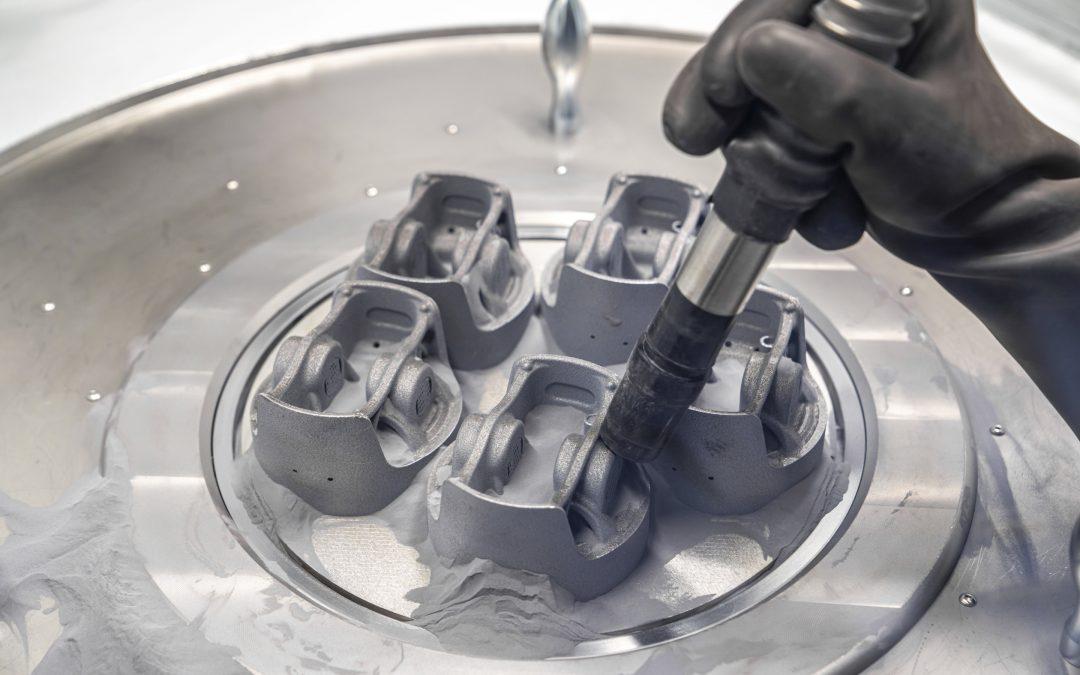 以創新3D列印技術製成的活塞零件提升引擎動力與效能
