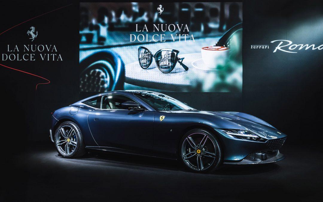 躍馬品牌全新GT跑車Ferrari Roma正式登臺