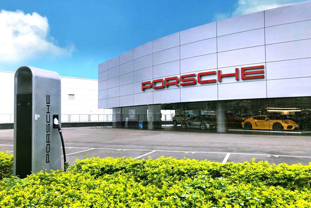 迎接Porsche Taycan台灣保時捷充電佈局藍圖