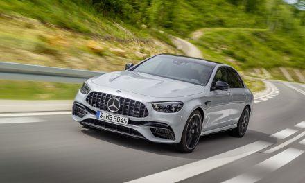 從容 馭動 全新 Mercedes-AMG E 63 4MATIC+ 強悍登台