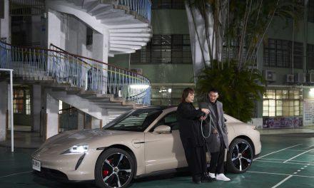 台灣保時捷「跑車大明星」邀請名人駕馭嶄新純電跑車Taycan環島
