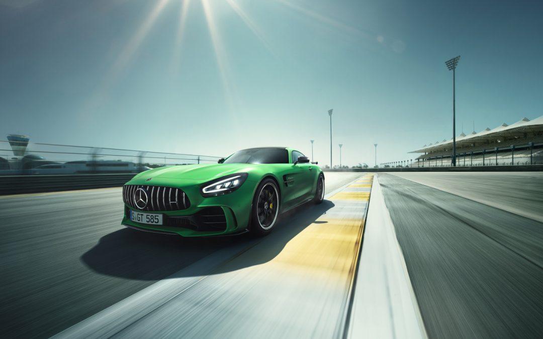 每條停止線,就是起跑線  全新 Mercedes-AMG GT、GT R重裝上陣