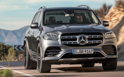 休旅車的 S-Class Mercedes-Benz GLS 450 4MATIC 豪華七人座休旅上市