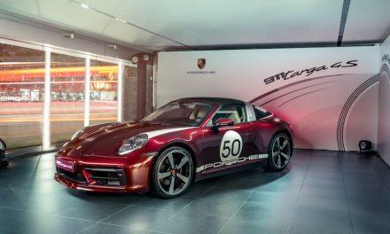 911 Targa 4S Heritage Design Edition重新演繹不朽經典
