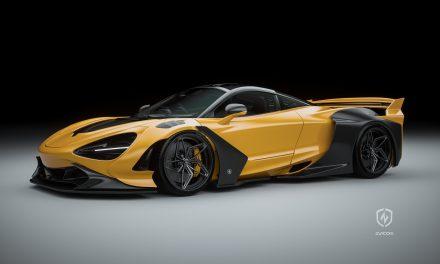 ZACOE 發表 McLaren 720s 銀河寬體